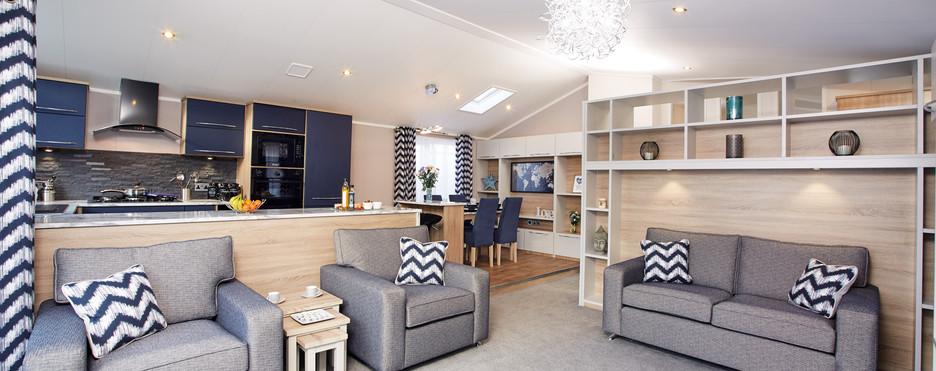 Laburnum lodge sitting room lounge area