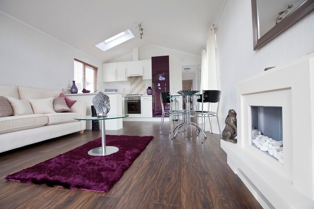 Salisbury Executive Lodge Living Room Area