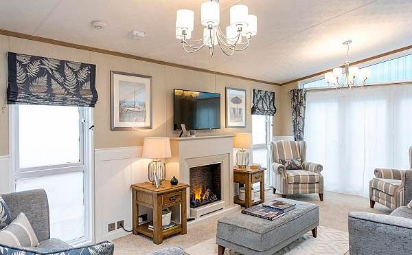 Pemberton Glendale Luxury Lodge sitting room