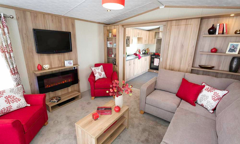 Regent Luxury Lodge Aberdeenshire Scotland lounge