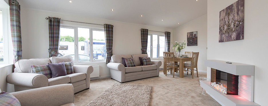 Badminton luxury holiday home lounge