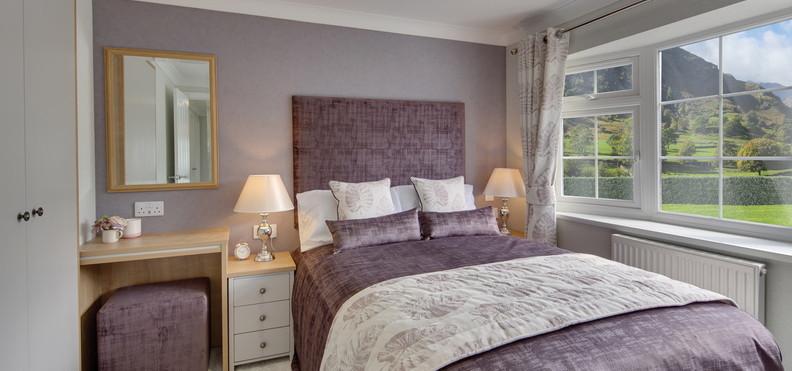 Willerby The Hazlewood Bedroom
