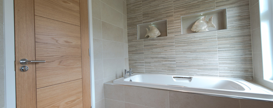 woodburn luxury lodge royal arch riverside park bathroom