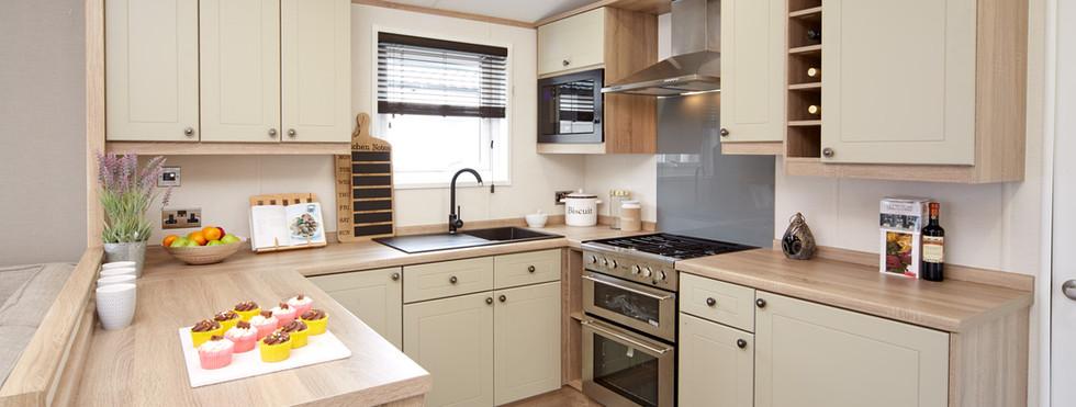 Atlas Sherwood Lodge kitchen