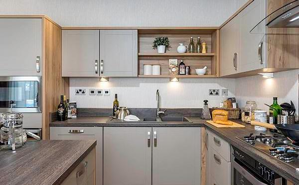 rivendale luxury lodge kitchen
