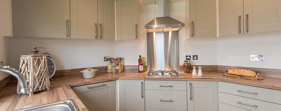 Badminton luxury holiday home kitchen