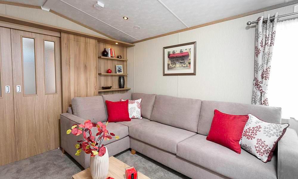 Regent Luxury Lodge Aberdeenshire Scotland sitting room