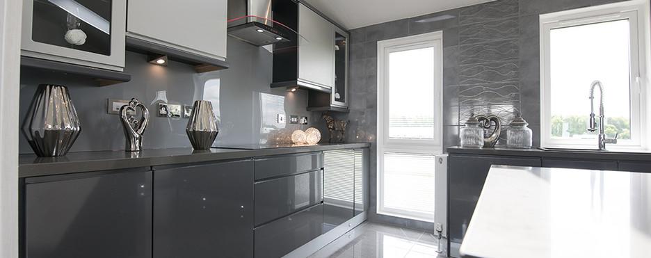 kensington luxury lodge kitchenRoyal Arch Park Aberdeenshire