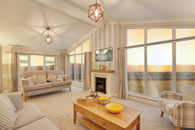 Willerby, Delamere leisure home lounge