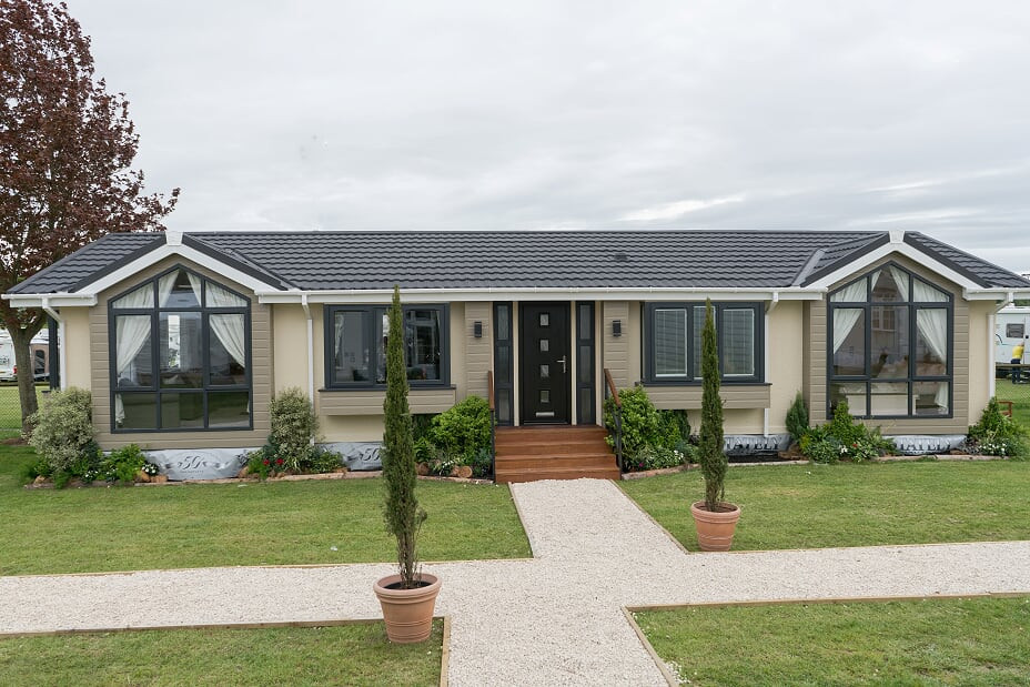 kensington luxury lodge exterior  Royal Arch Park Aberdeenshire