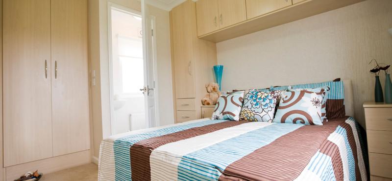 Salisbury Lodge bedroom Holiday Home Royal Arch Riverside Park
