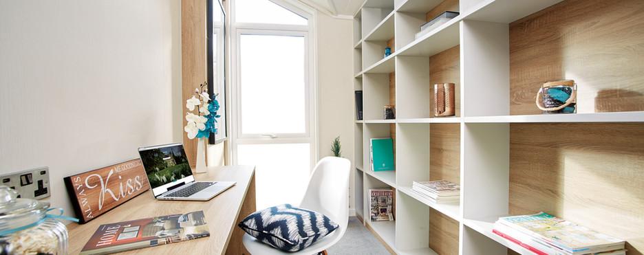 Laburnum lodge study bedroom