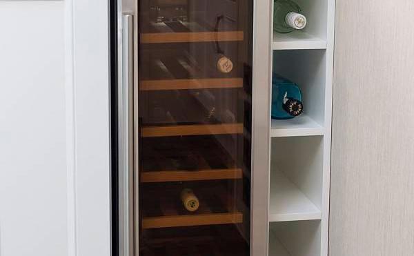 Pemberton Glendale Luxury Lodge fridge