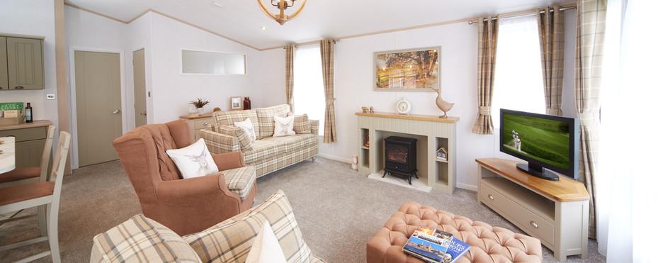 Atlas Debonair Luxury Lodge sitting area Royal Arch Riverside Park