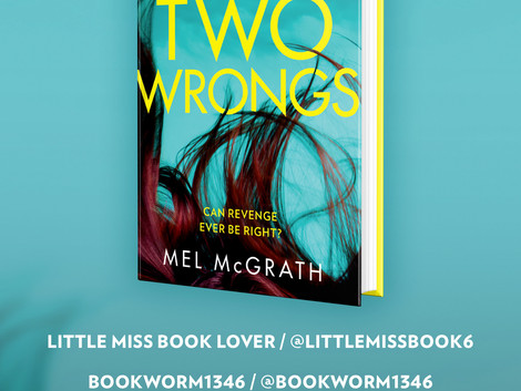 Two Wrongs Blog Tour
