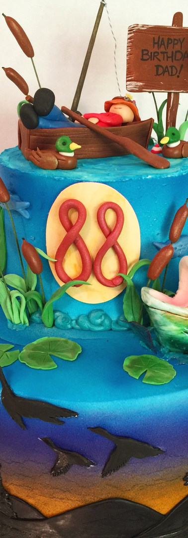 Gone Fishin' Cake