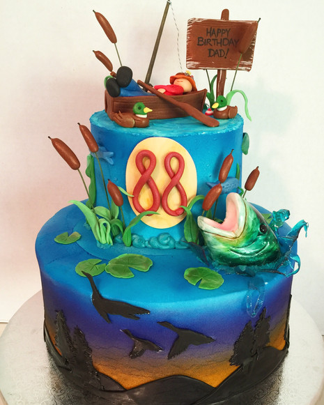 Gone Fishin' Cake