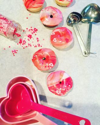 Valentine Doughnut Minis