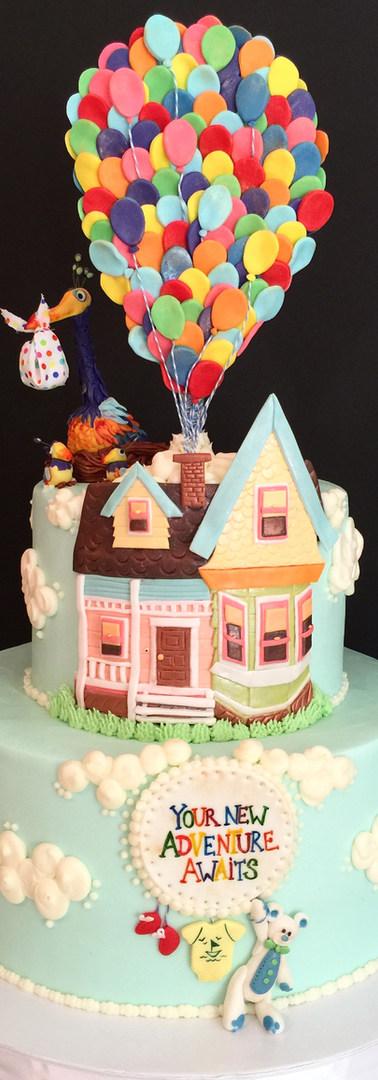 UP Baby Shower Cake