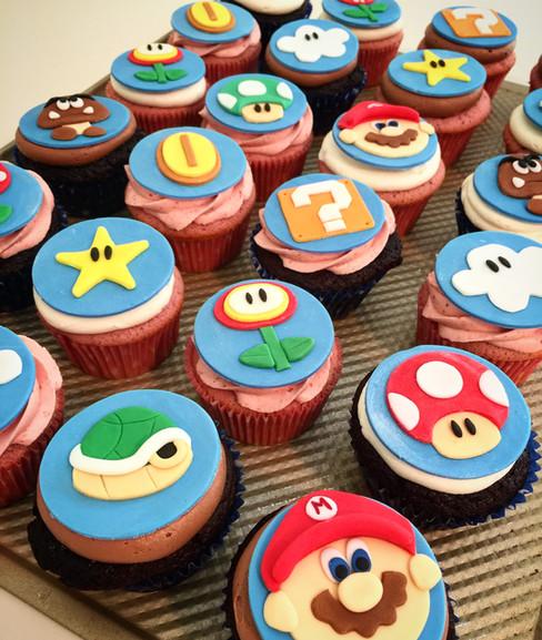 Mario Bros. Cupcakes