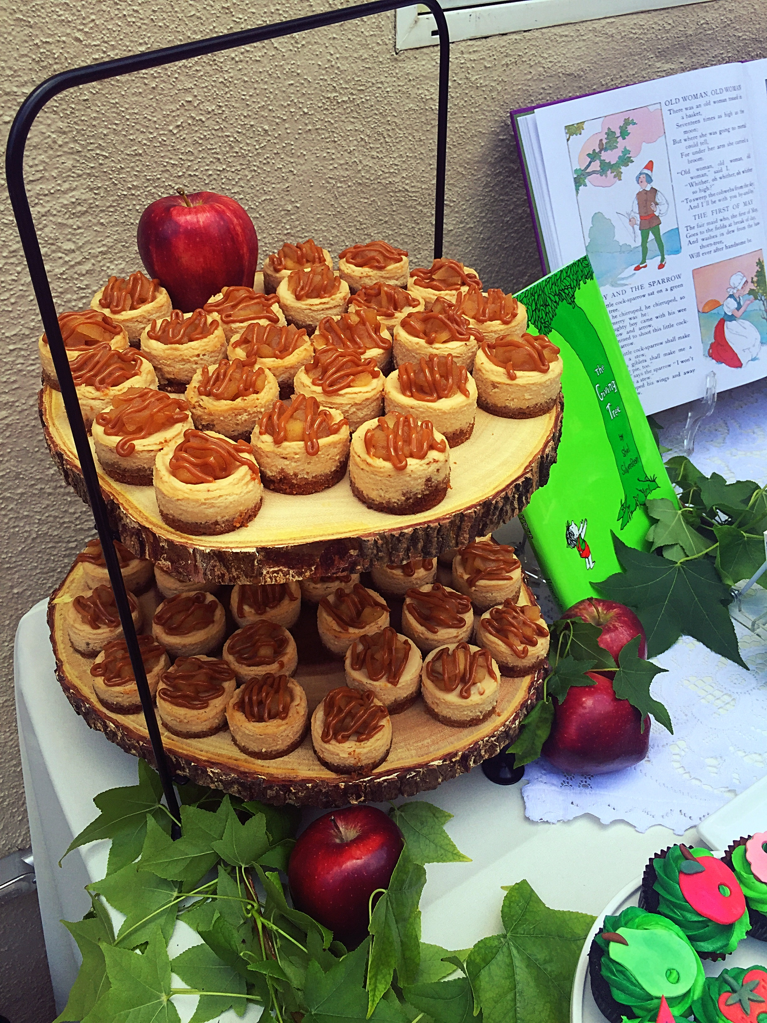 The Giving Tree Caramel Apple Cakes