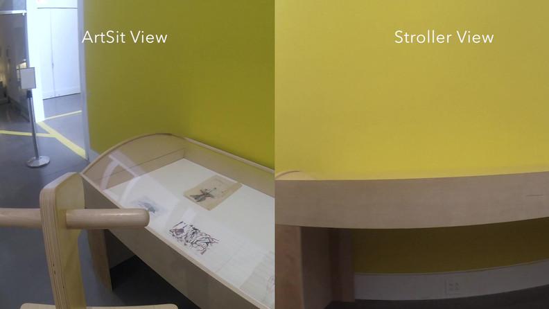 ArtSit vs. Stroller