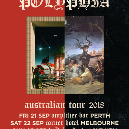 INTERVALS & POLYPHIA Are Headed Down Under In September 2018