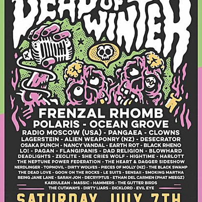 Interview with Dale Tanner of OCEAN GROVE ahead of Dead Of Winter Festival