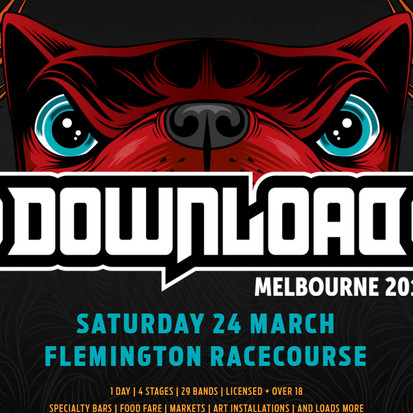 Why I'll be flying to Melbourne for Download Festival