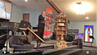 2018-12-02 Youth Pastor Todd Hodges - Video