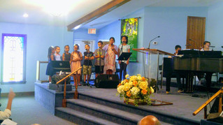 CAOG Kids Bless Mom's with Singing on Mother's Day