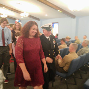 2016-11-18 CAOG's Charles Dungan Retires from Navy 26 Years