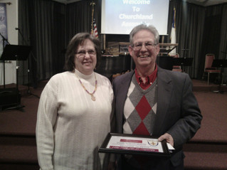 Churchland Assembly Member of the Year 2014 Chosen