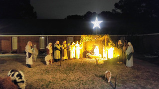 2017-12-17 Live Nativity Celebrating Jesus' Birth. Merry Christmas!