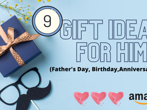 9 GIFT IDEAS FOR HIM | Father's Day, Birthday, Anniversary | Amazon
