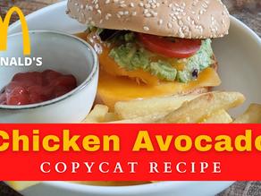 Chicken Avocado Burger | McDonald's Copycat Recipe