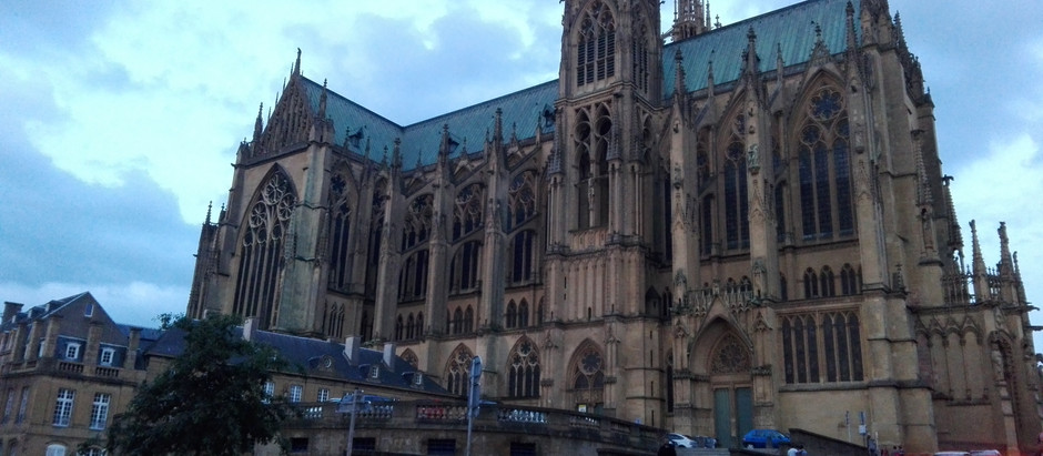 Nuit des Cathédrales in Metz, France