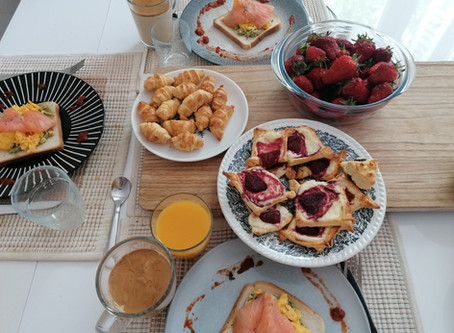 Sunday Brunch (trying out new recipes ...)