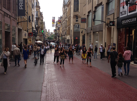 Being Tourists in Metz, France