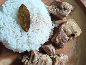 Pork Adobong Puti | White Pork Adobo