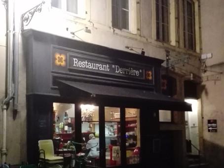 Restaurant Derrière in Metz, France