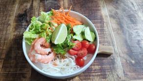 VIETNAMESE-STYLE NOODLE BOWL | Recipe