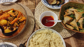 Iftar 2021 | Vegetable Tagine, Beef and Cheese Brick, and Fried Eggplant
