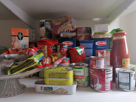 What's in my Kitchen? (Covid-19 Confinement - Day 5)