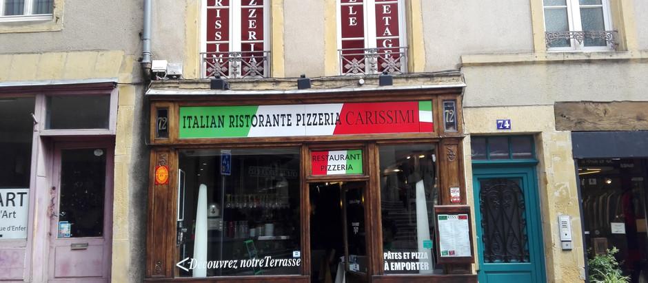 Pizzeria Carissimi in Metz, France