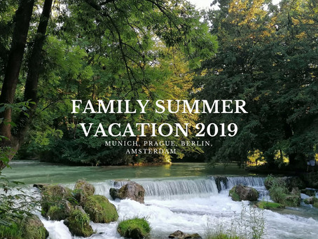 Family Summer Vacation 2019! (European Road Trip 2019 Series #1)