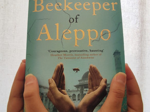 Book Review + Questions: The Beekeeper of Aleppo by Christy Lefteri