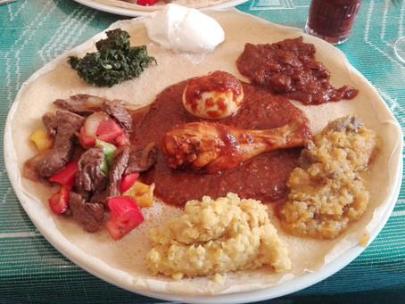 Wedding Anniversary Dinner at O'Paradis Ethiopien in Metz, France