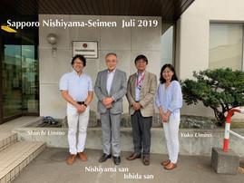 Nishiyama-Seimen Sapporo, Japan