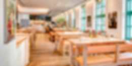 Enteriőr fotó egy étteremről